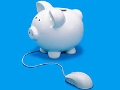 Afraid of online banking piggy bank