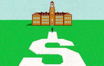 Ilustración de cómo regresar a la escuela y pagar por los estudios