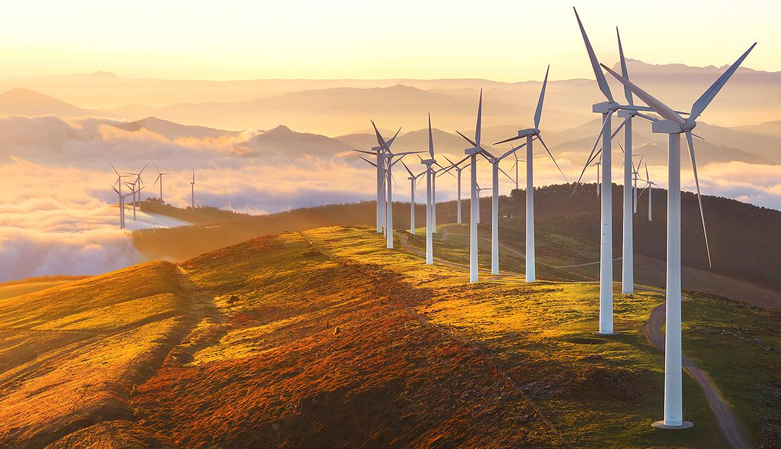 Wind turbines, Social Investing