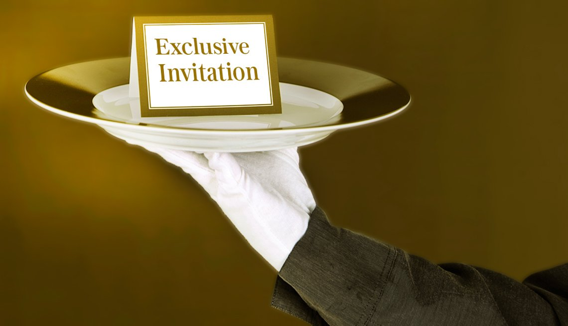 Exclusive invitation on a platter, Hedge Fund Lesson