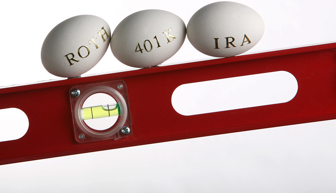 Required Distributions  - Taking all of the RMD from one account if you have both a 401K and an IRA.