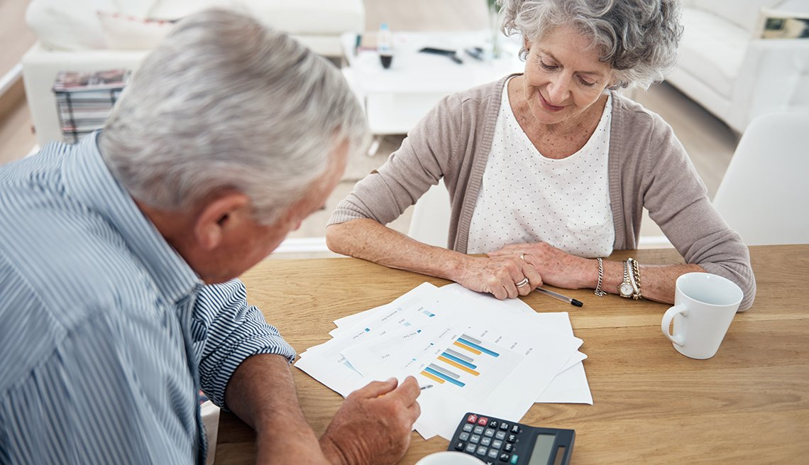 Mature couple planning for retirement, Recommended Annuities