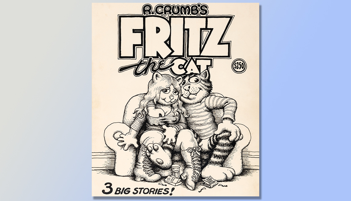 item 3 of Gallery image - Fritz the Cat book -  Five Collectibles that brought big money