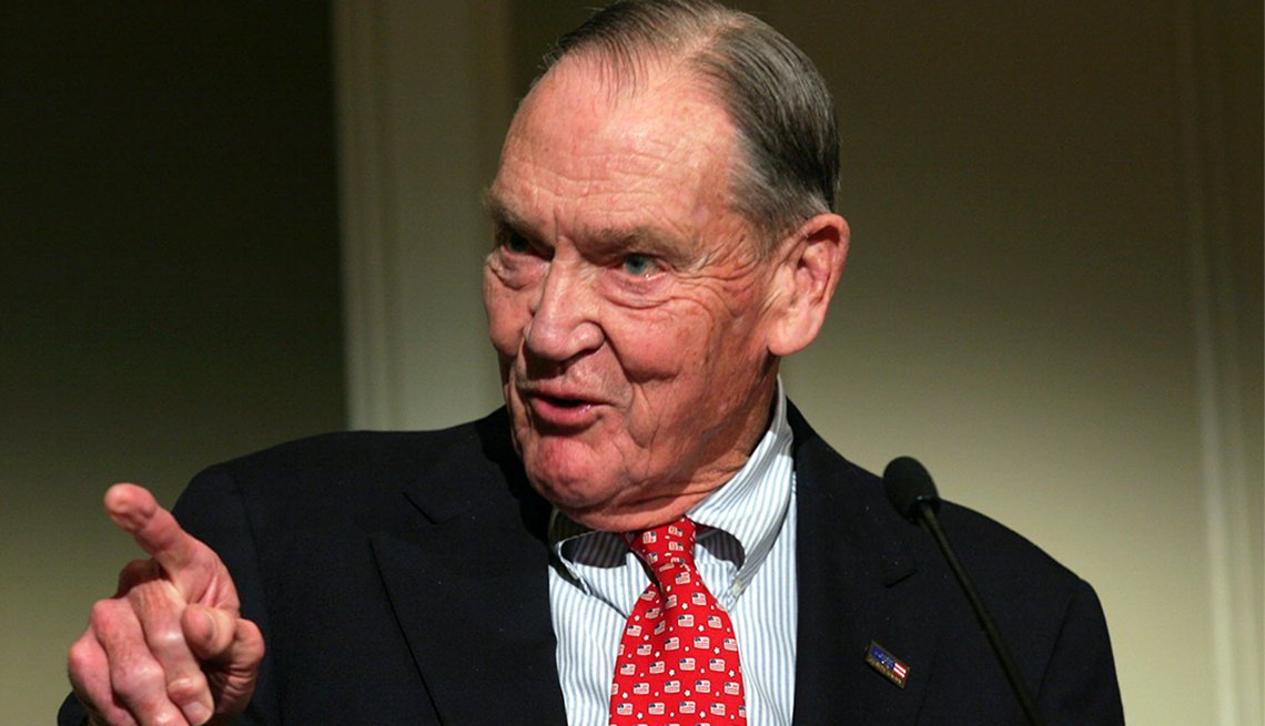 Jack Bogle, fundador de Vanguard Group.