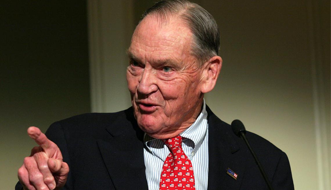 Jack Bogle, fundador de Vanguard Group.