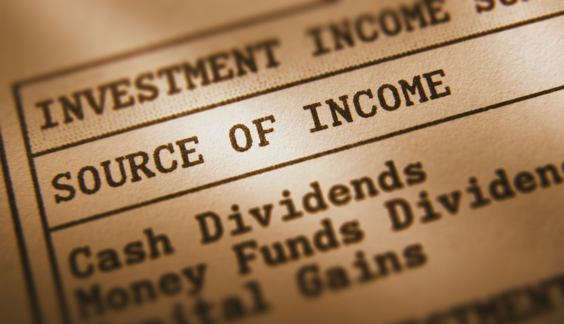 dividend investment Income closeup report