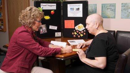 Betty Keenan applies for the Supplemental Nutrition Assistance Program.