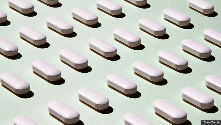 Ways to save on health expenses - Rows of white pills