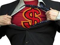 Fabulosos regalos para 2013 - Hombre abriéndose la camisa enseñando una camiseta con un signo de dólar