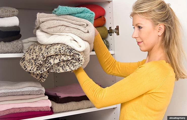 Cleaning out your closet is a quick and easy way to gain some space and make money.