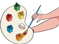 Mantenga bajos los costos en entretenimiento al regalar cupones para tareas en el hogar.