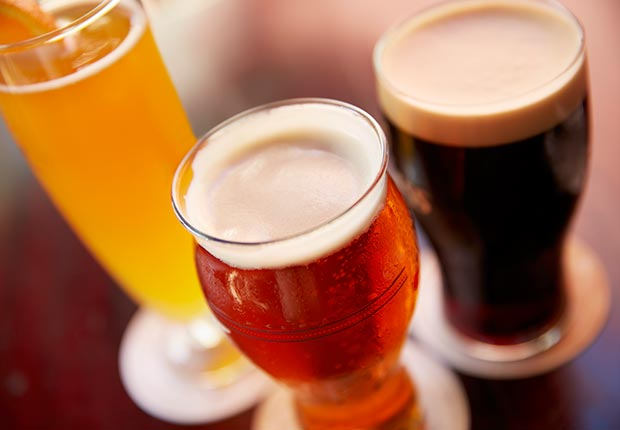 a variety of beers (Dana Hoff/Getty Images)