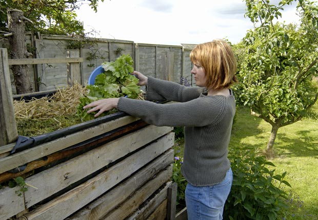 Build your own compost bin.  $100 or less DIY home fixes. (Keith M. Law/Alamy)