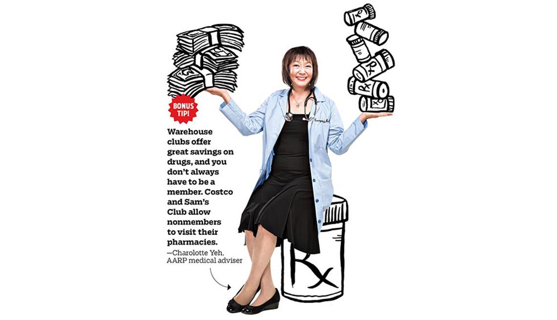 Charlotte Yeh muestra algunas maneras de ahorrar