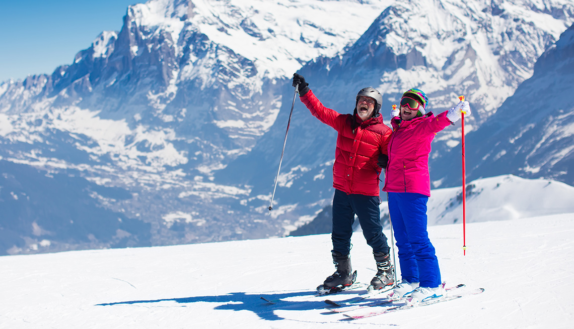 Seniors Ski Free