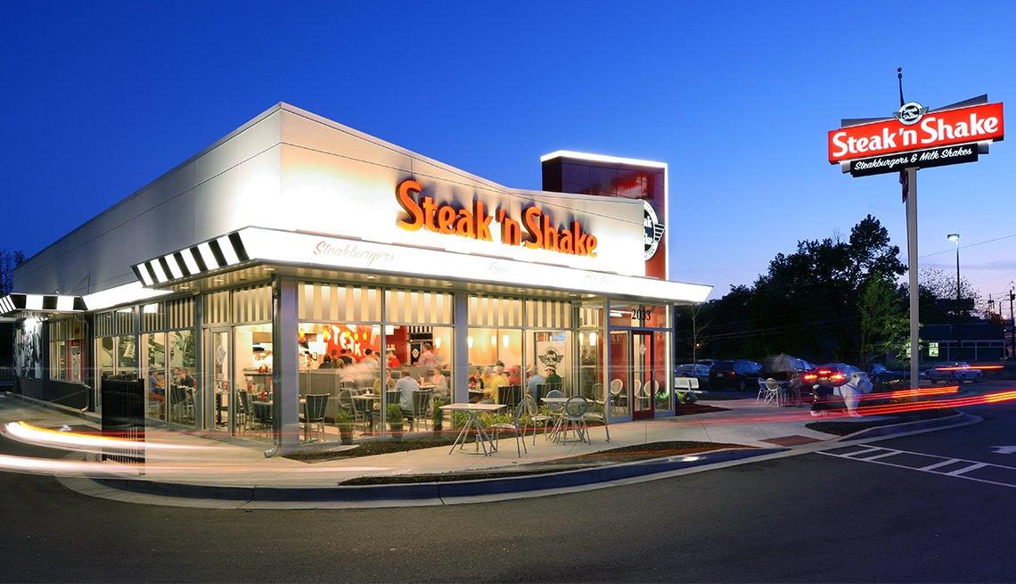 Local de Steak 'n Shake