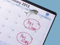 Calendario con el día de pago de créditos