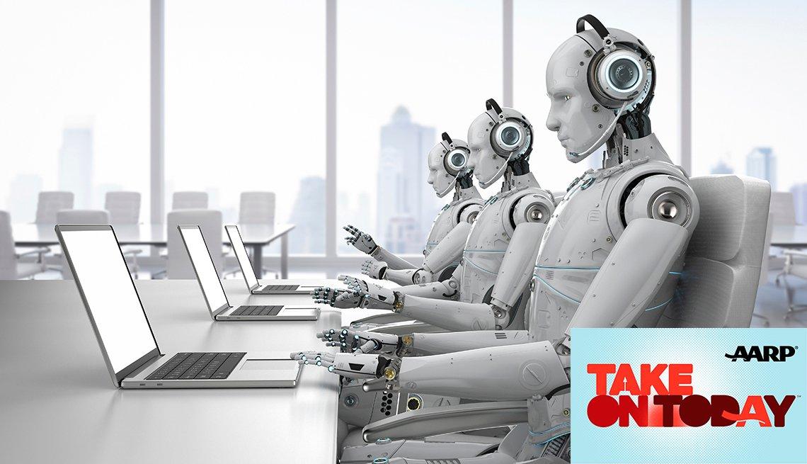 Robots making phone calls