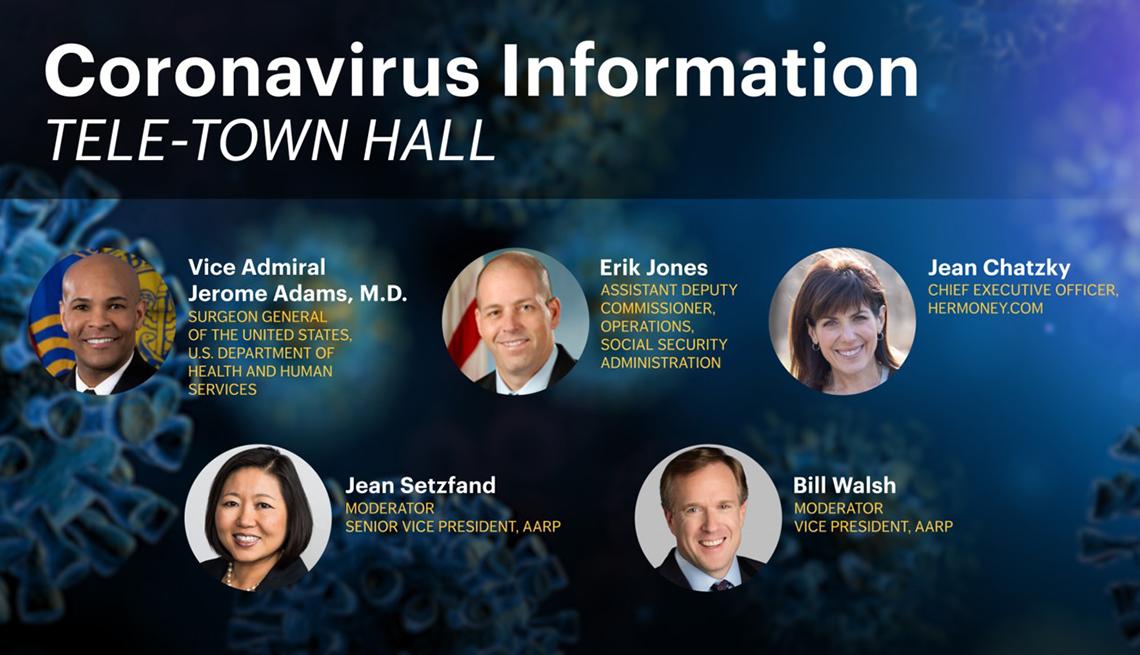Coronavirus Town Hall Event
