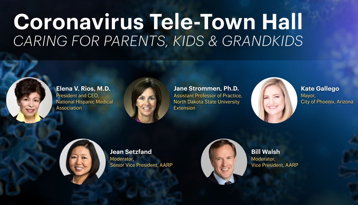Coronavirus Tele Town Hall