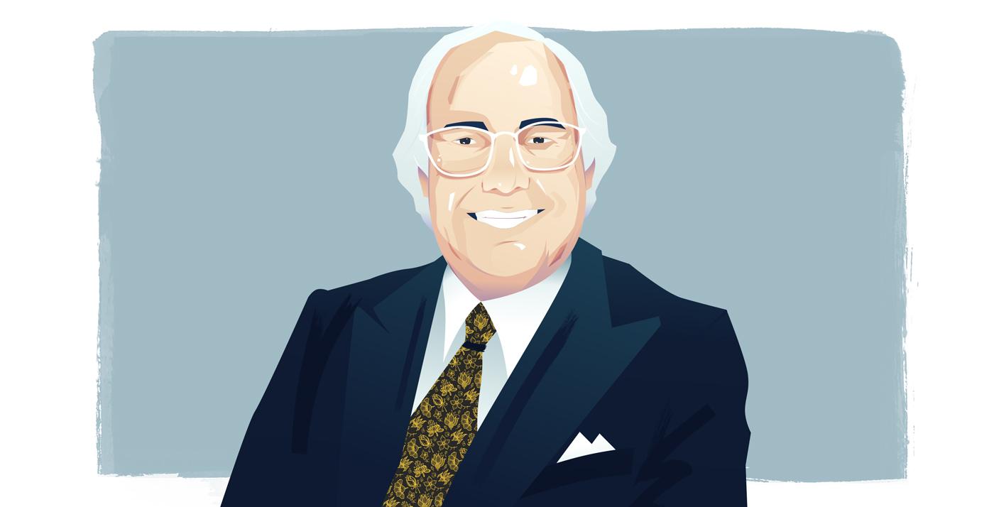 Graphic illustration of Frank Abagnale