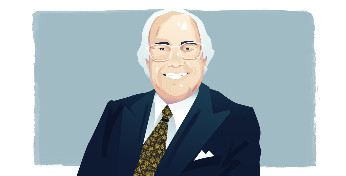 Graphic illustration of Frank Abagnale