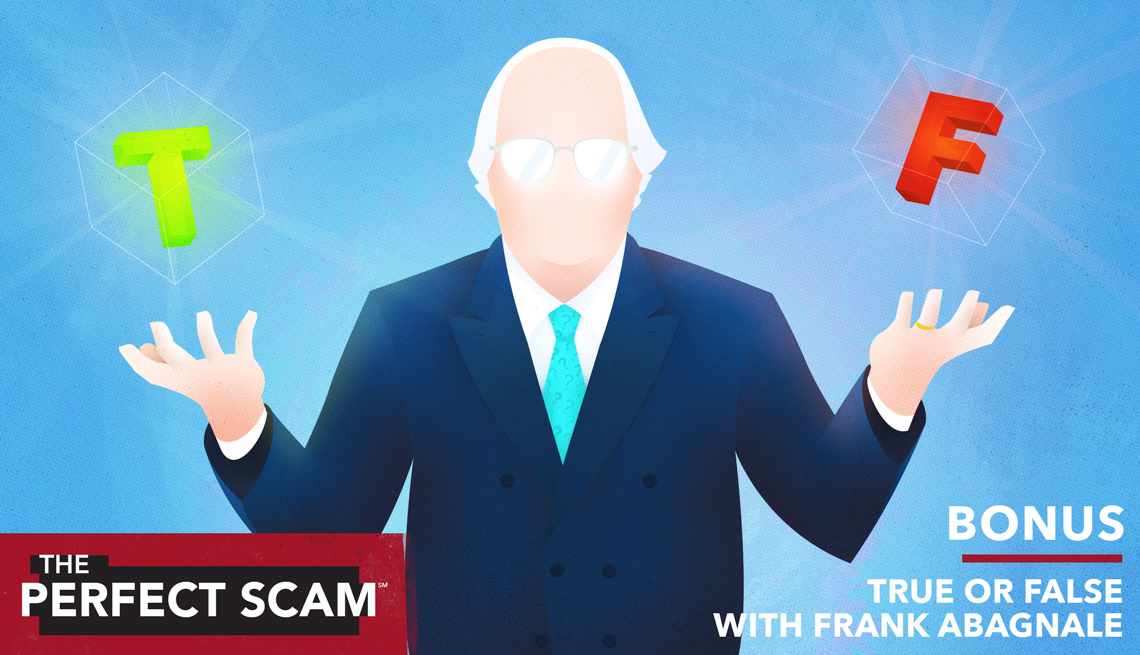 Bonus Episode - True or False with Frank Abagnale