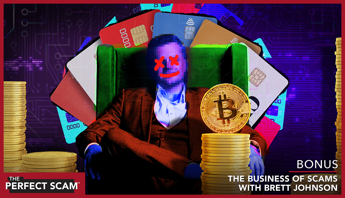 Website image - Bonus episode - The Business of Scams with Brett Johnson