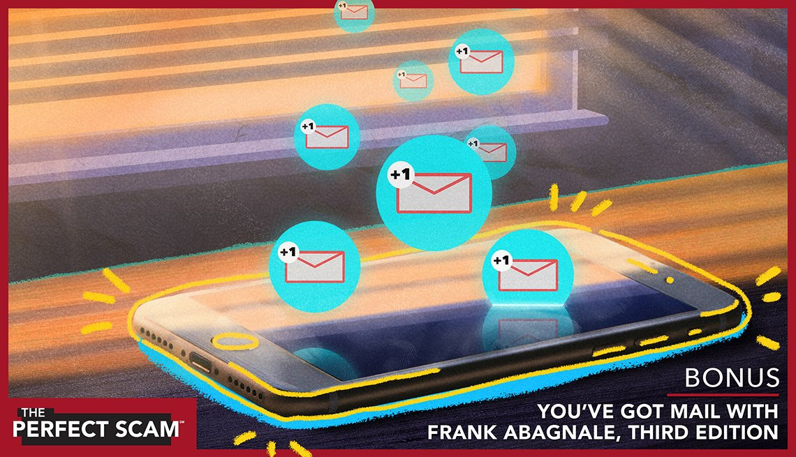 Bonus episode - You've Got Mail With Frank Abagnale