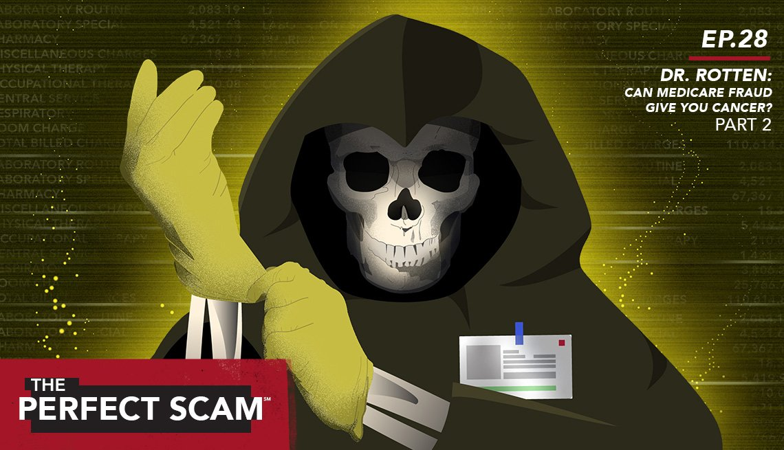 Episode 28 Dr. Rotten: Can Medicare Fraud give your cancer? Part 2 - The Perfect Scam