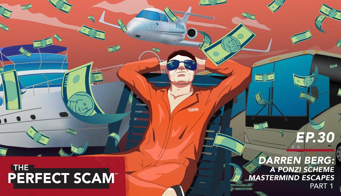 Darren Beg - a Ponzi scheme mastermind escapes