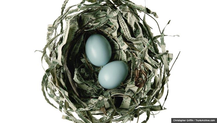 nest egg, retirement, money, chatzky, savings, robin's eggs