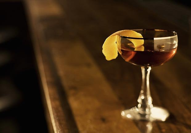 drink on bar