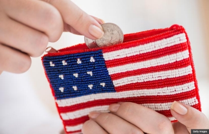 American flag coin purse. How do the three budget plans stack up?