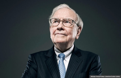 Warren Buffett (Michael Prince/Forbes Collection/Corbis Outline)