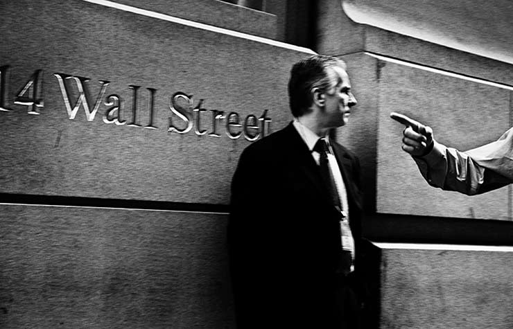 Wall Street, Lessons Recession