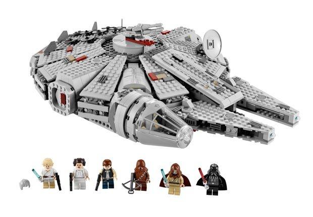 Lego set Millennium Falcon - Objetos coleccionables que le pueden generar dinero.