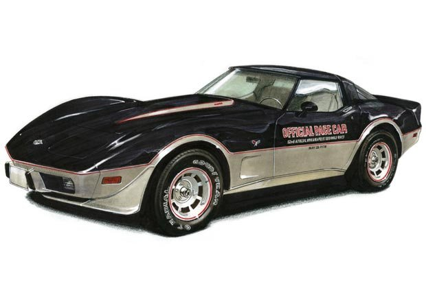 Chevrolet Corvette Indy Pace Car de 1978 - Objetos coleccionables que le pueden generar dinero.
