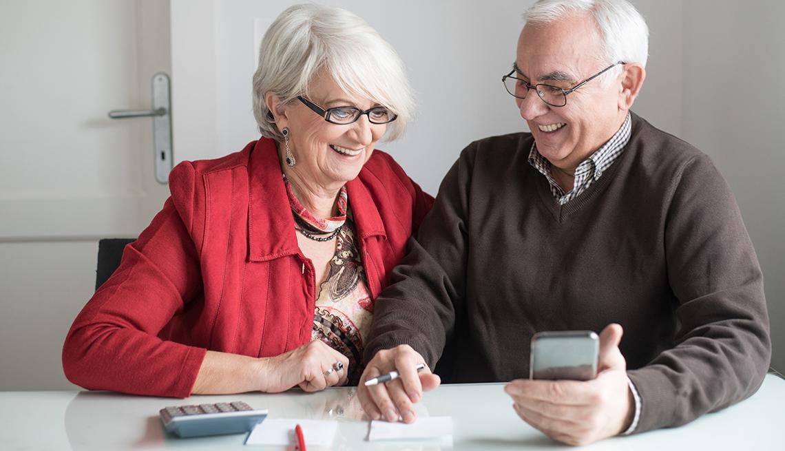 mature couple review bills