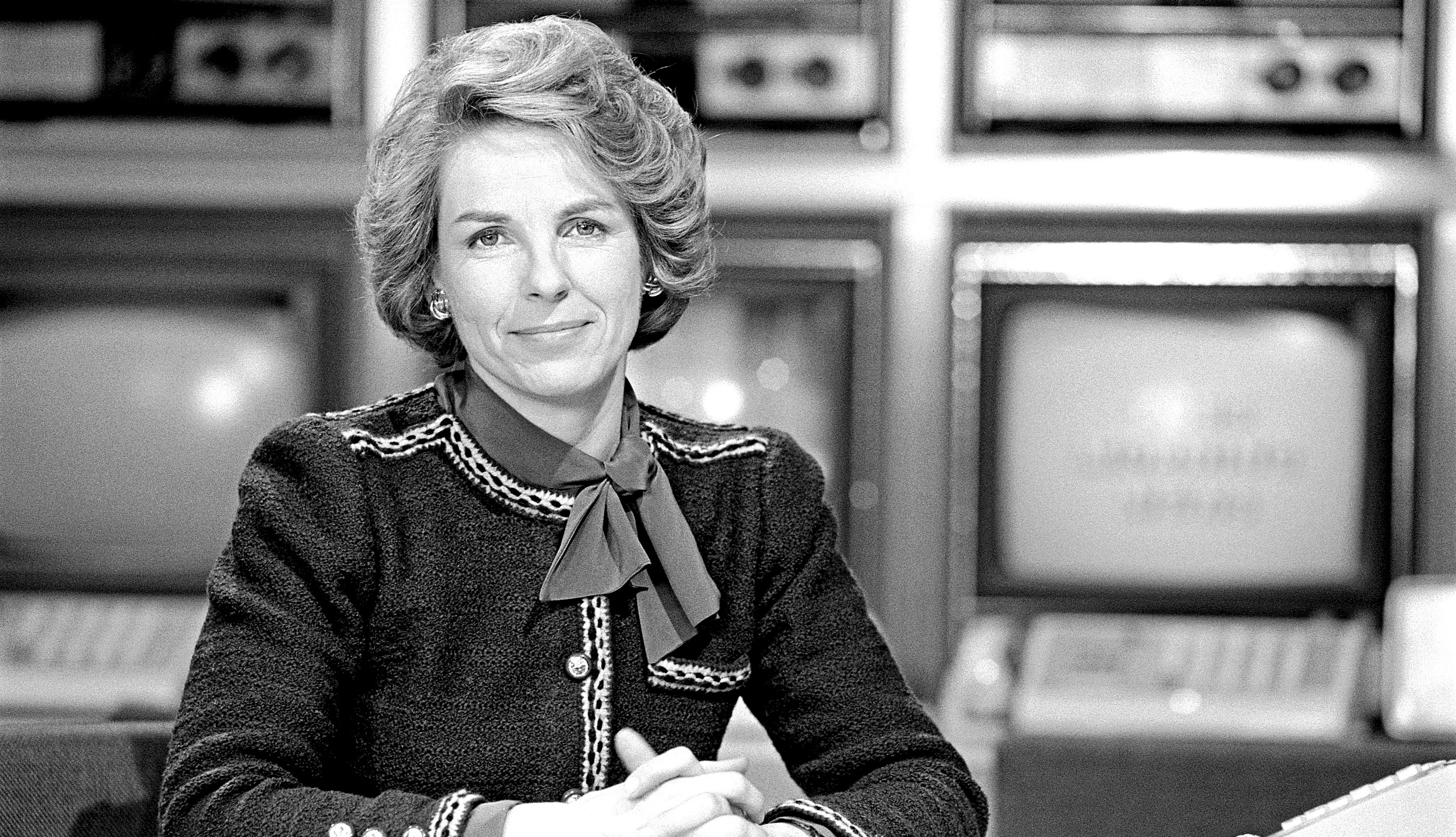 photo of jane bryant quinn appearing on the c b s morning t v show in nineteen eighty two