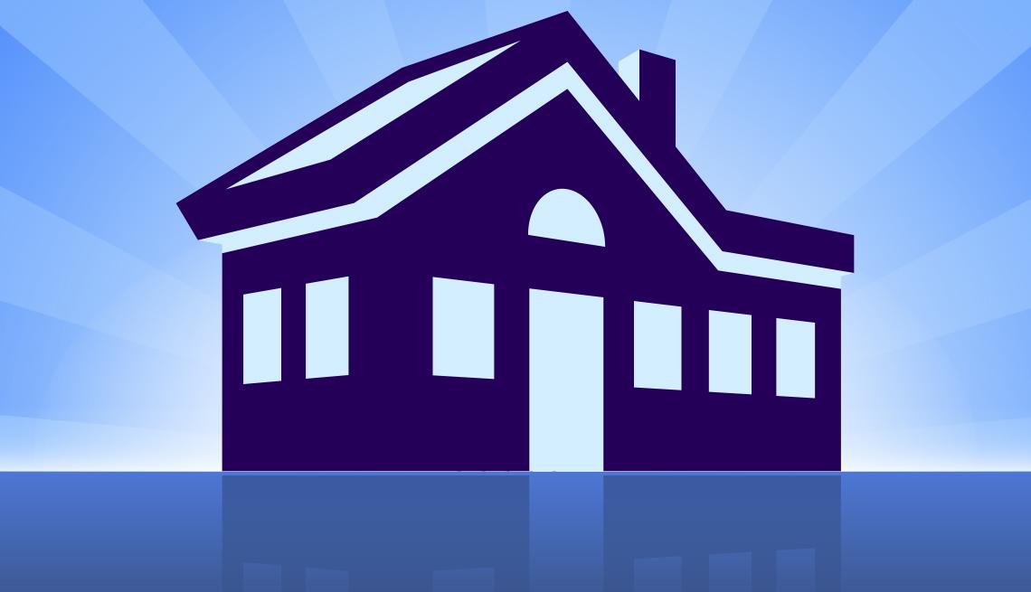 Ilustración de una casa