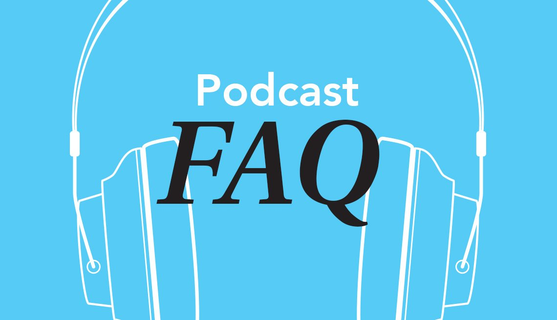 Podcast FAQ, graphic