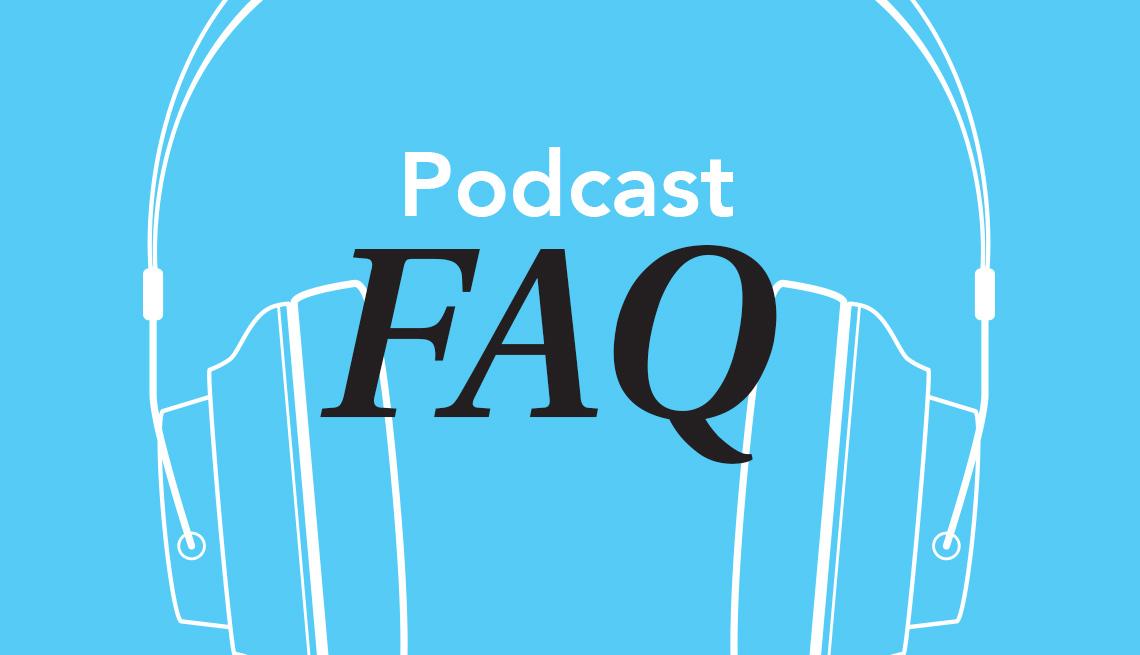 Podcast FAQ, graphic