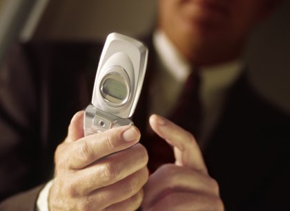 dialing cellphone
