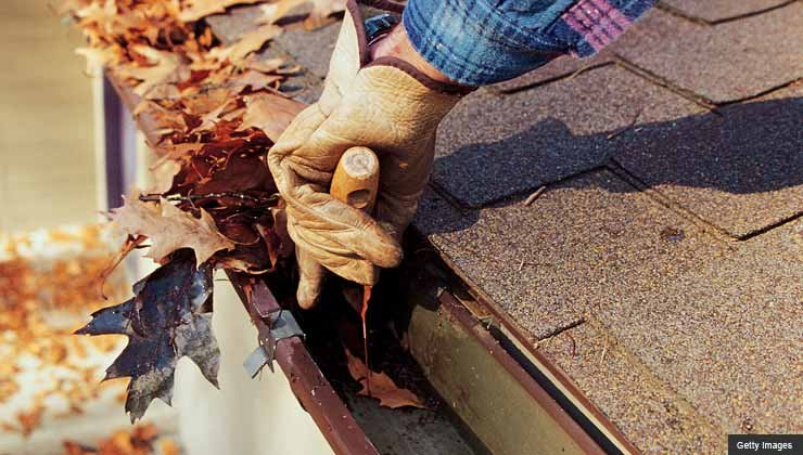 Gutter cleaning - fall is the season for home repair scams