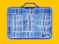 A suitcase filled with cash awaits you - unclaimed property scams