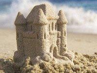 Castillo de arena - Evite las estafas en sus vacaciones de verano