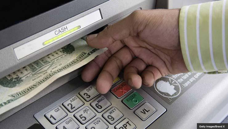 ATM glue fraud scam cash