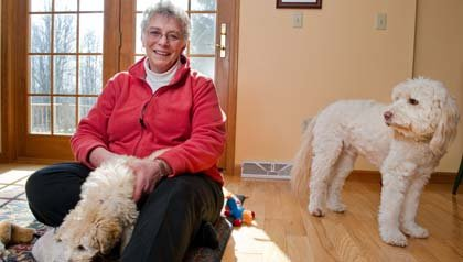 Karen Hoffman, 63, began 20 years ago to save for retirement, when she will split her time between New York and Florida. The AARP website offers a wide range of retirement-planning tools and calculators.