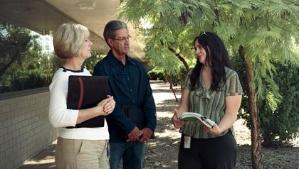 Volunteers Marquetta and Bob White, Arizona Guardian Review Program